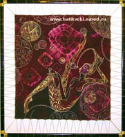 Batik Taming soap bubbles