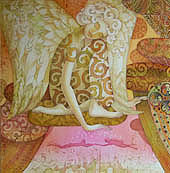 Batik The angel - keeper